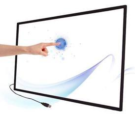 50 collu Multi IS Touch Screen Panelis bez stikla / interaktīva 2 punkti touch ekrāna rāmis LED TV / Ātra Piegāde 4