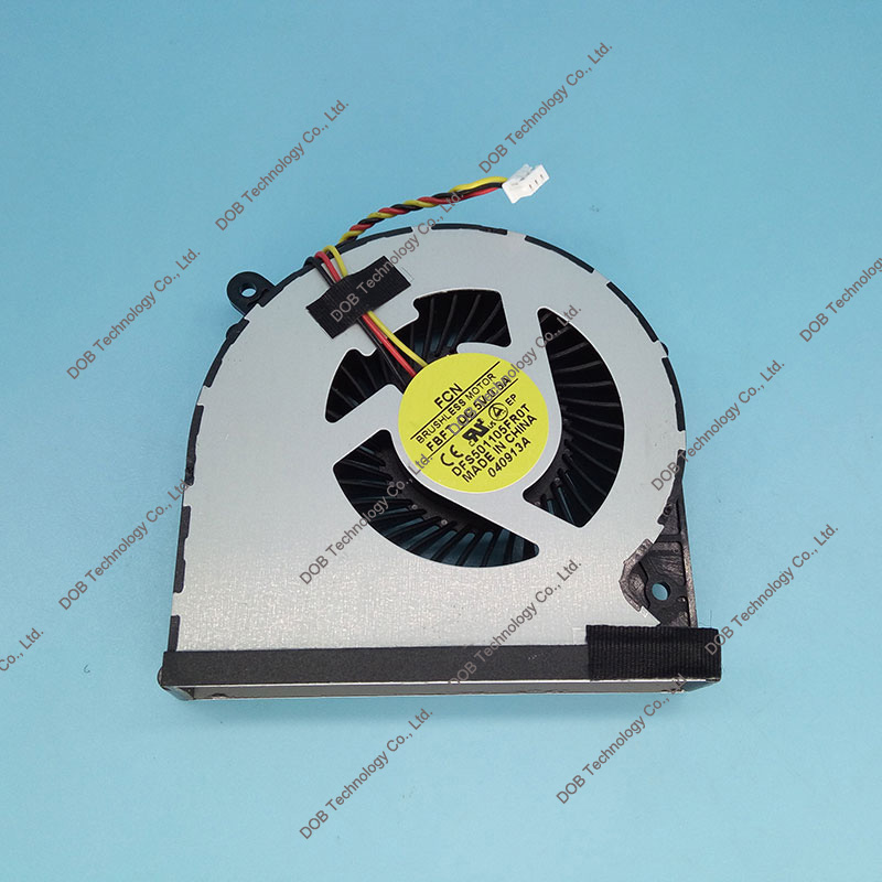 Laptop CPU Dzesēšanas Ventilators Toshiba Satellite C850 C855 C875 C870 L850 L870 DFS501105FR0T MF60090V1-C450-G99 3 PIN KSB06105HA ventilators 4