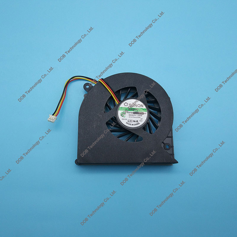 Laptop CPU Dzesēšanas Ventilators Toshiba Satellite C850 C855 C875 C870 L850 L870 DFS501105FR0T MF60090V1-C450-G99 3 PIN KSB06105HA ventilators 5