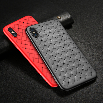 FLOVEME Tīkla Aušana Silikona Case For iPhone 8 Plus iPhone 7 6 s Ultra Plānas Soft Touch Telefonu Gadījumos iPhone 8 7 Plus iPhone X