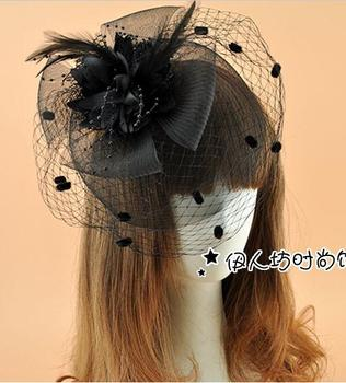 Acs Galvas ziedu Sinamay fascinators Retro Renesanses Cepures